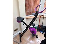 Exercise bike (purple) Great Condition