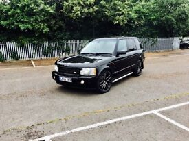 """RANGE ROVER OVERFINCH AUTOBIOGRAPHY FULLY LOADED DVDS 22""""alloys low milage no audi,BMW,Mercedes,VW"""