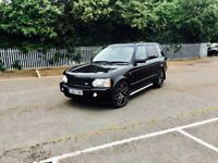 "RANGE ROVER OVERFINCH AUTOBIOGRAPHY FULLY LOADED DVDS 22""alloys low milage no audi,BMW,Mercedes,VW"