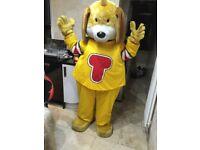 Professional Dog Mascot / Character Costume For Sale. Mascot Costume, Fancy Dress.