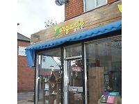Shop to let (premises only)