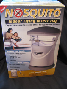 NOSQUOTO - Indoor Flying Insect Trap - Brand New