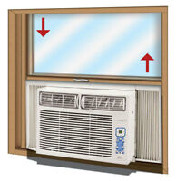 Window Air Conditioners Installation $80