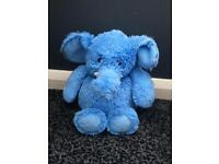 Blue Microwave Elephant Plushie