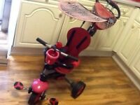 Smart Trike 3 in 1 with Canopy and Bag