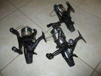 3x Shimano ST 10000 RA baitrunner reels