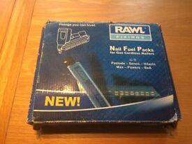 Rawl nail fuel packs for gas cordless nailers