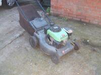 lawnmower ,petrol with grass box £25