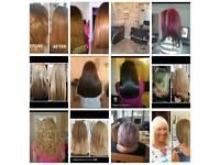 Home Salon Mobile Hair Extensions Nano Brazilian Blowdry