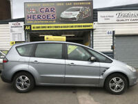 2007 FORD S-MAX 2.0 TDCI ZETEC (6G) 7 SEATER 12 MONTH (AA) WARRANTY INCLUDED