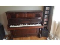 working upright overstrung piano for free - collection from Croydon