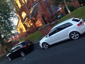 Audi A3 Quattro S line, automatic, pulls like a BEAST !!