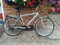 """Raleigh Tundra 26"""" Bike with accessories"""