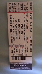 Metallica Floor Ticket for sale