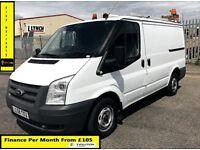 SALE SALE!!Ford Transit Van 2.2 300-1 Owner-EX BT, 65 K Miles, FSH - 8 Stamps, 1YR MOT -Elec Window