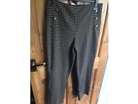 Size 14 miss selfridge trousers