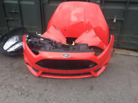 FORD FIESTA ST-3 2016 ST180 1.6 TURBO ECOBOOST COMPLETE FRONT END