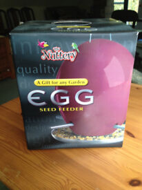 A Nuttery Egg Bird Feeder
