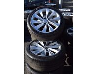 Volkswagen scirocco alloys 225/40/18