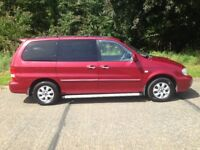 Kia Sedona 7 Seater, 2005 Diesel Manual. long MOT