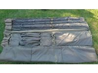 CARP FISHING***3x daiwa theory rods 2.75tc and tracker 12 rod holdall.