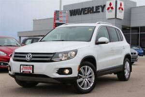 2015 Volkswagen Tiguan Highline/Leather/Roof/HeatedSeats