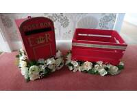 Wedding post box set