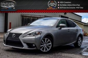 2015 Lexus IS 250 Bluetooth|Pwr Seats|Heated front seats|Push St