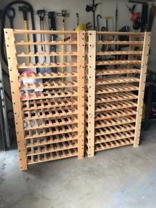 Two Ikea Wine Racks-great shape!