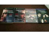 Vampire diaries set season 1 and 2 plus 2 books