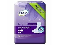 Tena Lady Night Pads x 1 (20 packs available)