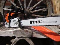 "STIHL CHAINSAW ms441c M-Tronic 25"" New Machine"