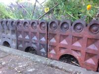 Reclaimed Vintage Victorian Decorative Edgings