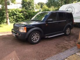 7seater Automatic Landrover Discovery 3