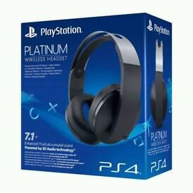 Sony Platinum Wireless Headset