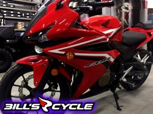 2017 HONDA On Road CBR 500 RH   CBR Red