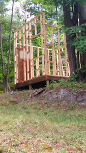Shed Frame and Base For Sale - Will Disassemble For Buyer