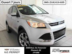2014 FORD ESCAPE AWD TITANIUM, TOIT PANO,