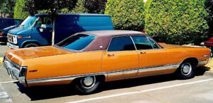 Very rare 1970 Chrysler New Yorker 4-door hardtop.