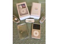 iPod classic 160GB Silver with original box