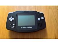 Nintendo Gameboy Advance Black