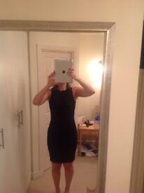 Black pattern primark dress size 12