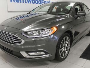2017 Ford Fusion SE- WOAH! Sunroof, back up cam AND keyless entr