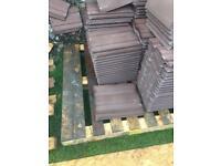 100 brown redland renown smooth roof tiles