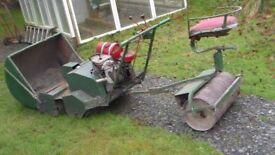 Huge old Hayter cylinder mower