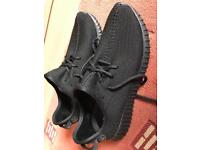 Adidas Yeezy Boost 350 all black brand new size 10