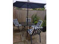 Great condition garden furniture