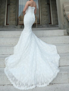 An amazing wedding dress