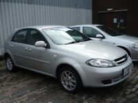 2008 Chevrolet Lacetti 1.6i SX 5Door Will Be Supplied With A Years MOT Only 61,000 Miles