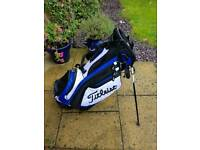 TITLEIST STAND BAG USED ONE TRIP IMMACULATE £129